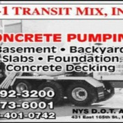 A1 Transit Mix Offers Ready Mix Delivery Service Throughout New York City