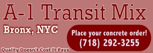 A1 Transit Mix- Bronx, New York